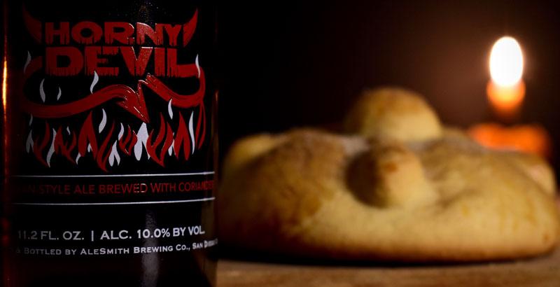 Maridaje cerveza y pan de muerto